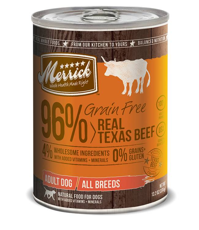 Merrick Merrick Can Dog 13.2 oz Grain Free 96% Beef