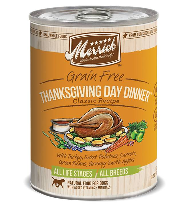 Merrick Merrick Can Dog 13.2 oz Thanksgiving Day Dinner