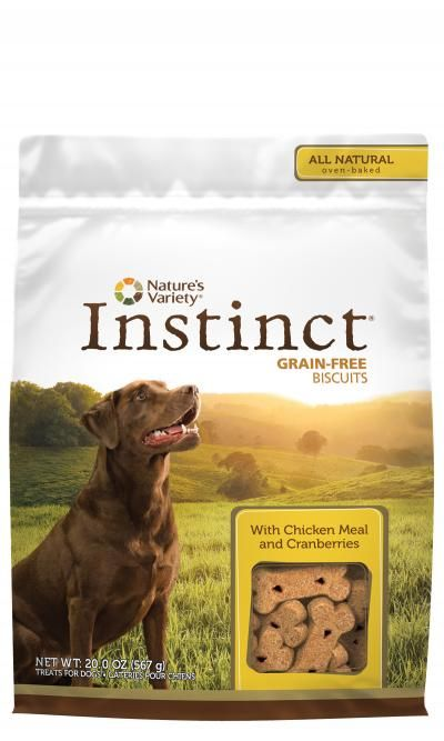 Natures Variety Natures Variety Instinct Biscuits Chicken 10 oz