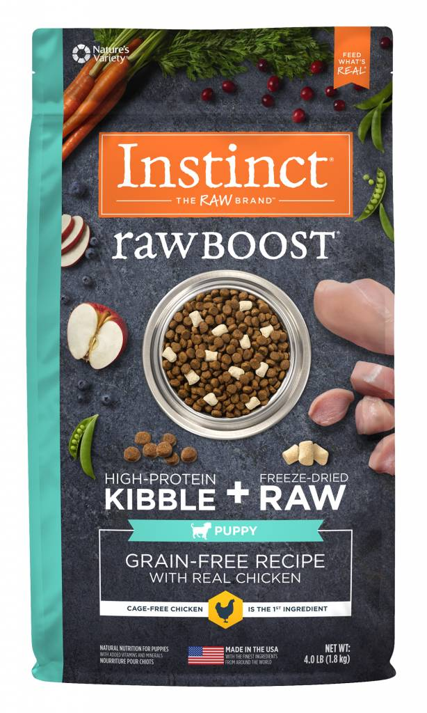 Natures Variety Natures Variety Instinct Raw Boost Puppy 4 lb.
