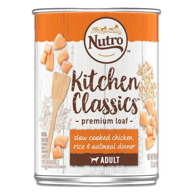 Nutro Nutro Dog Can 12.5 oz Chicken/Rice/Oatmeal