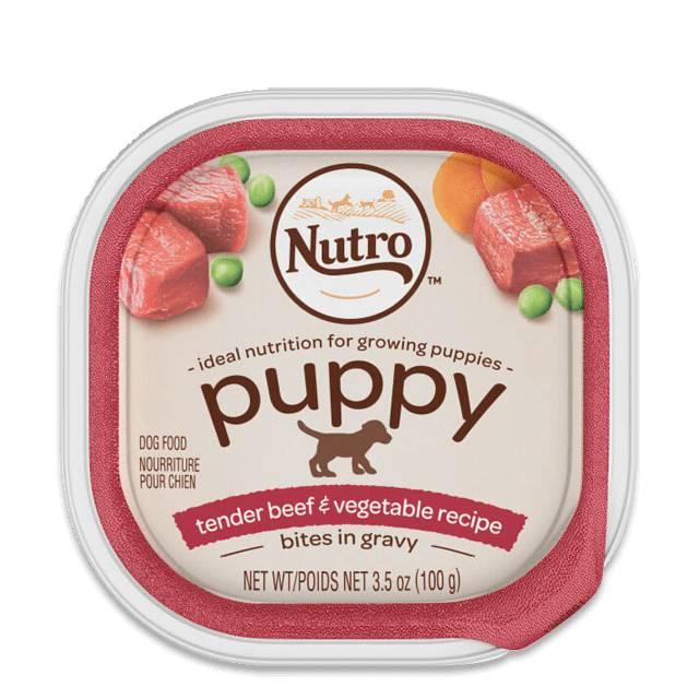 Nutro Natural Choice Dog Tray 3.5 oz. Puppy Beef