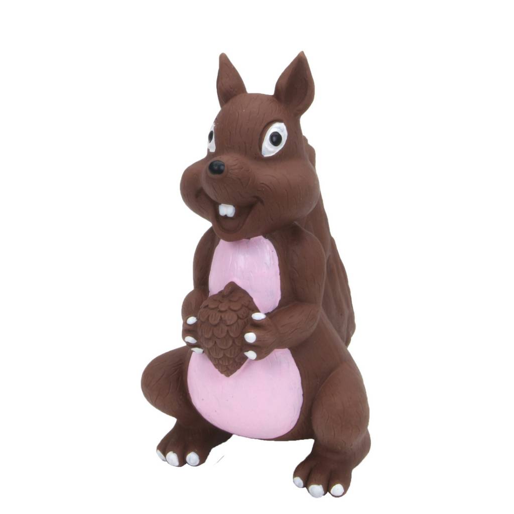 Rascals Rascals 6'' Latex Squirrel Dog Toy