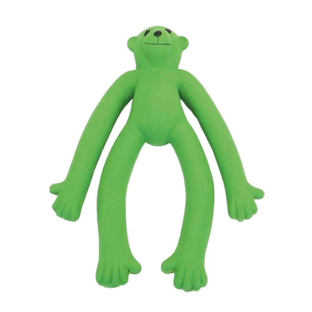 Rascals Rascals 6'' Latex Monkey Dog Toy