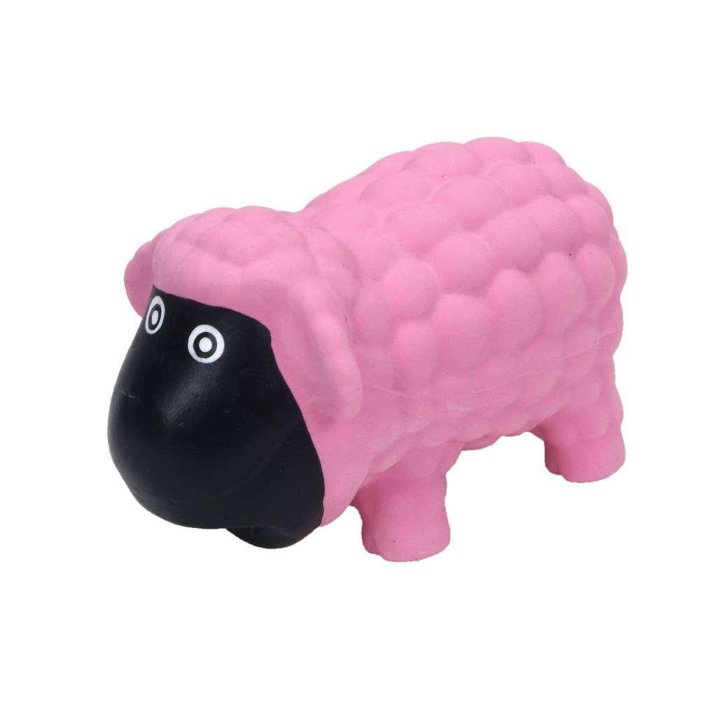 Rascals Rascals 6.5'' Latex Sheep Dog Toy