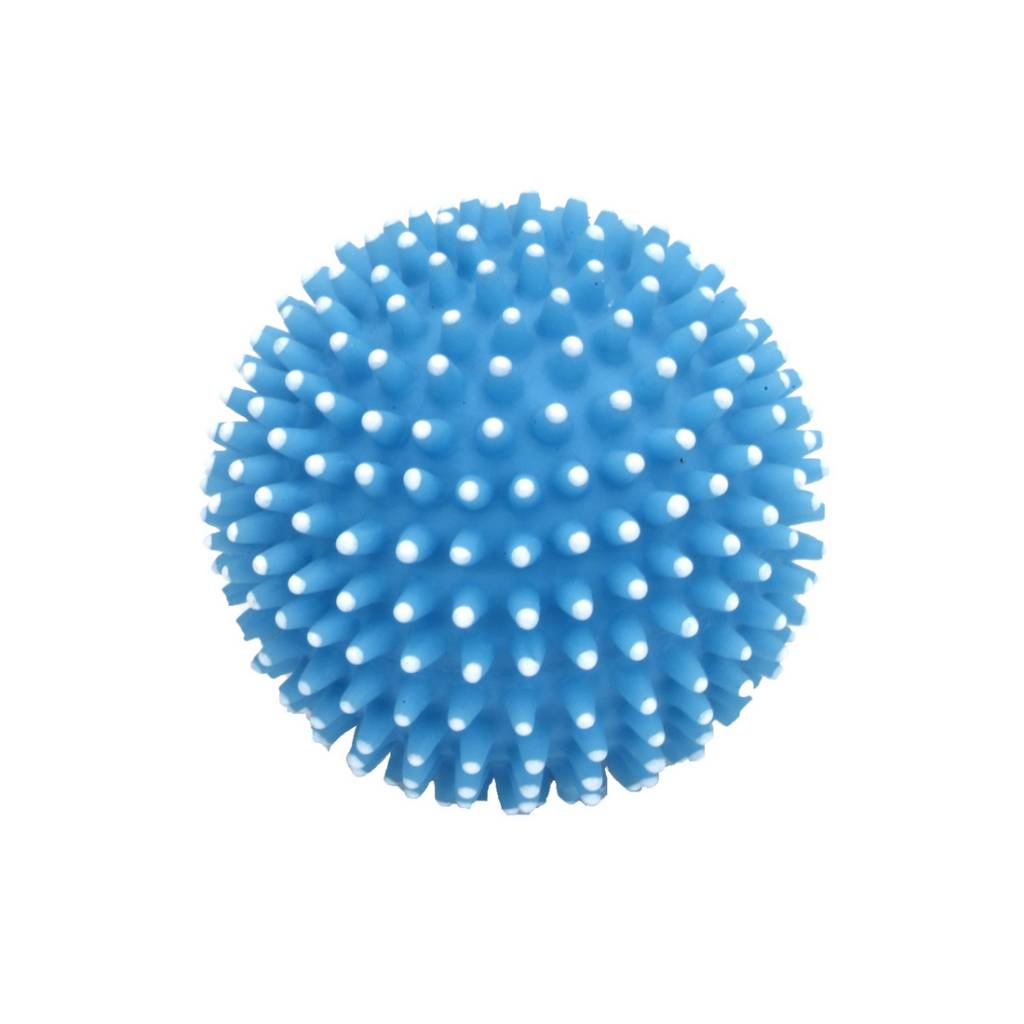 rascals 2.5 latex spiny ball dog toy