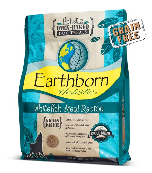 Earthborn Earthborn Grain Free Biscuits Whitefish