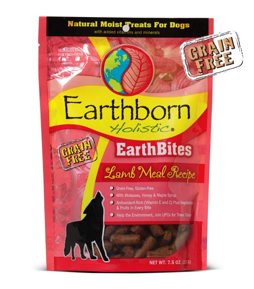 Earthborn Earthborn Earthbite Treats Lamb