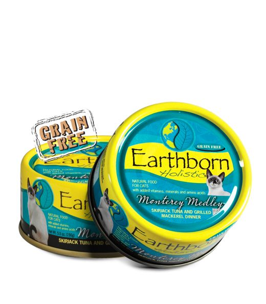 Earthborn Earthborn Cat Can 5.5 oz Grain Free Monterey