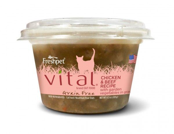 Freshpet Freshpet Deli Fresh Vital Chicken & Beef Cat Cup 4.5 oz