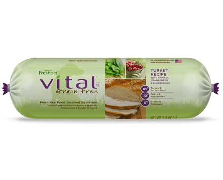Freshpet Freshpet Deli Fresh Vital Turkey With Vegetables 2#
