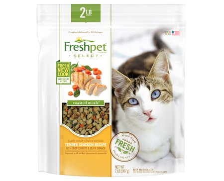 Freshpet Freshpet Deli Fresh Vital Complete Meals For Cats 1#