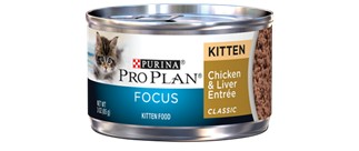 Pro Plan Pro Plan Cat Can 3 oz Kitten Chicken/Liver