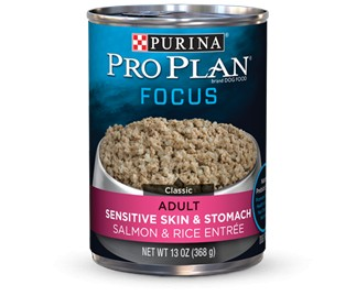 Pro Plan Pro Plan Focus Can Dog Sensitive Skin/Stomach 13 oz