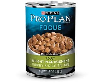 Pro Plan Pro Plan Focus Can Dog Weight Management Turkey/Rice 13 oz