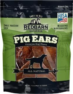 Red Barn Red Barn 10-Pk Natural Pig Ears