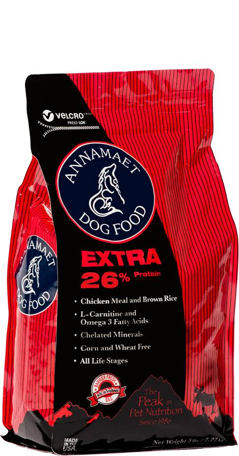Annamaet Annamaet Extra 26% Chicken Fish Dry Dog Food