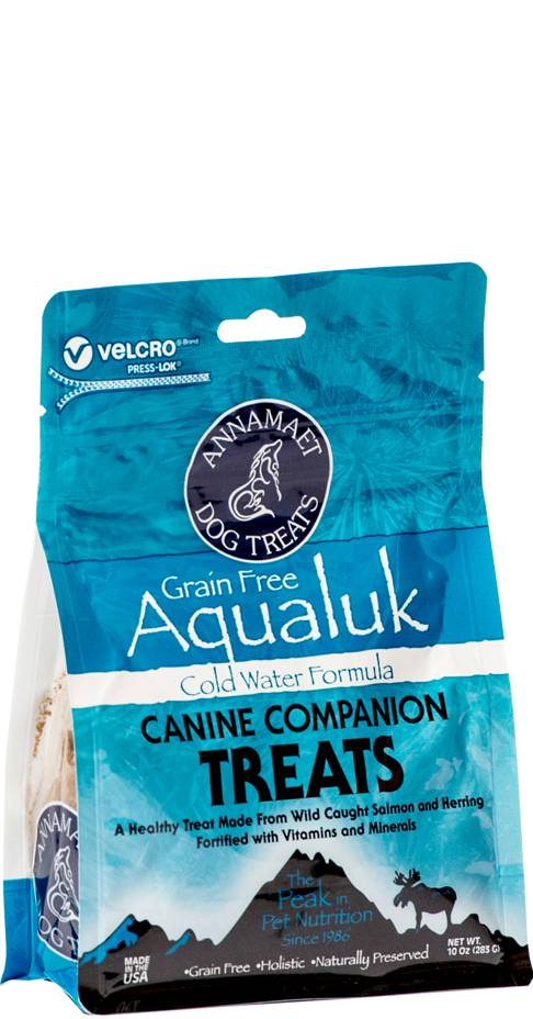 Annamaet Annamaet Treats Aqualuk Salmon Herring 10 oz.