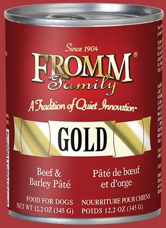 Fromm Fromm Gold Dog Can Beef Pate 12.2 oz