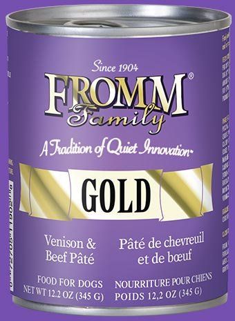 Fromm Fromm Gold Dog Can Venison/Beef Pate 12.2 oz
