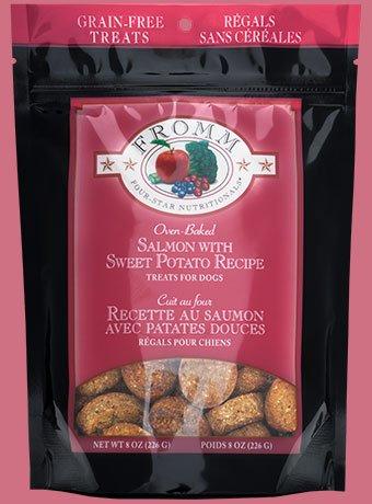Fromm Fromm 4-Star Treats Salmon/Sweet Potato 8 oz