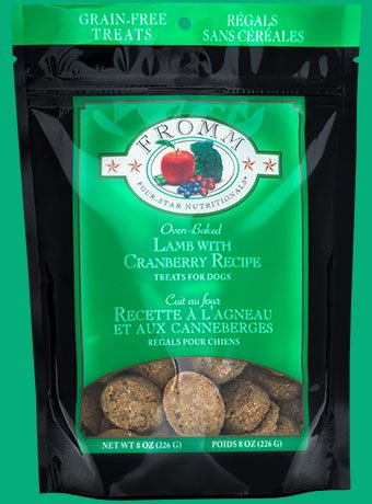 Fromm Fromm 4-Star Treats Lamb/Cranberry 8 oz