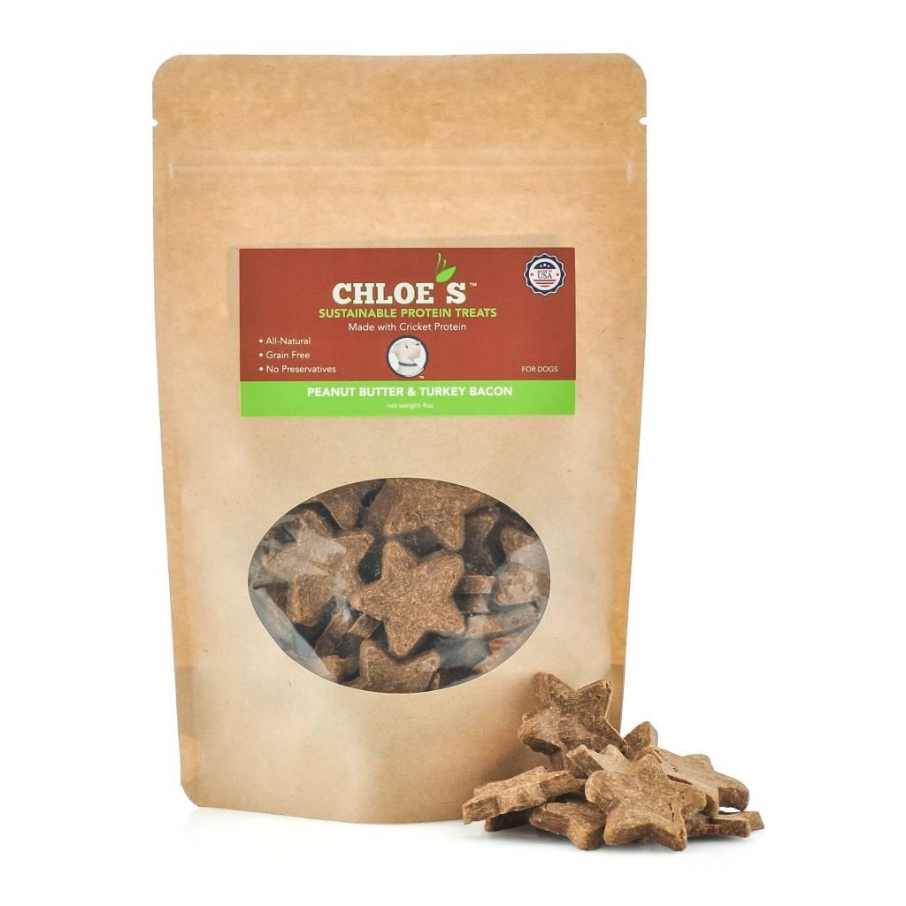 Chloe's Treats Chloes' Cricket Treats Peanut Butter/Turkey
