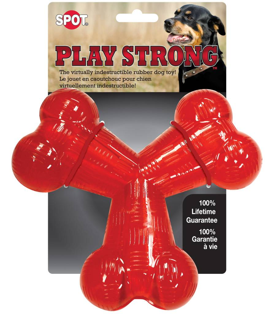 Ethical (Spot) Spot Play Strong Trident Dog Toy