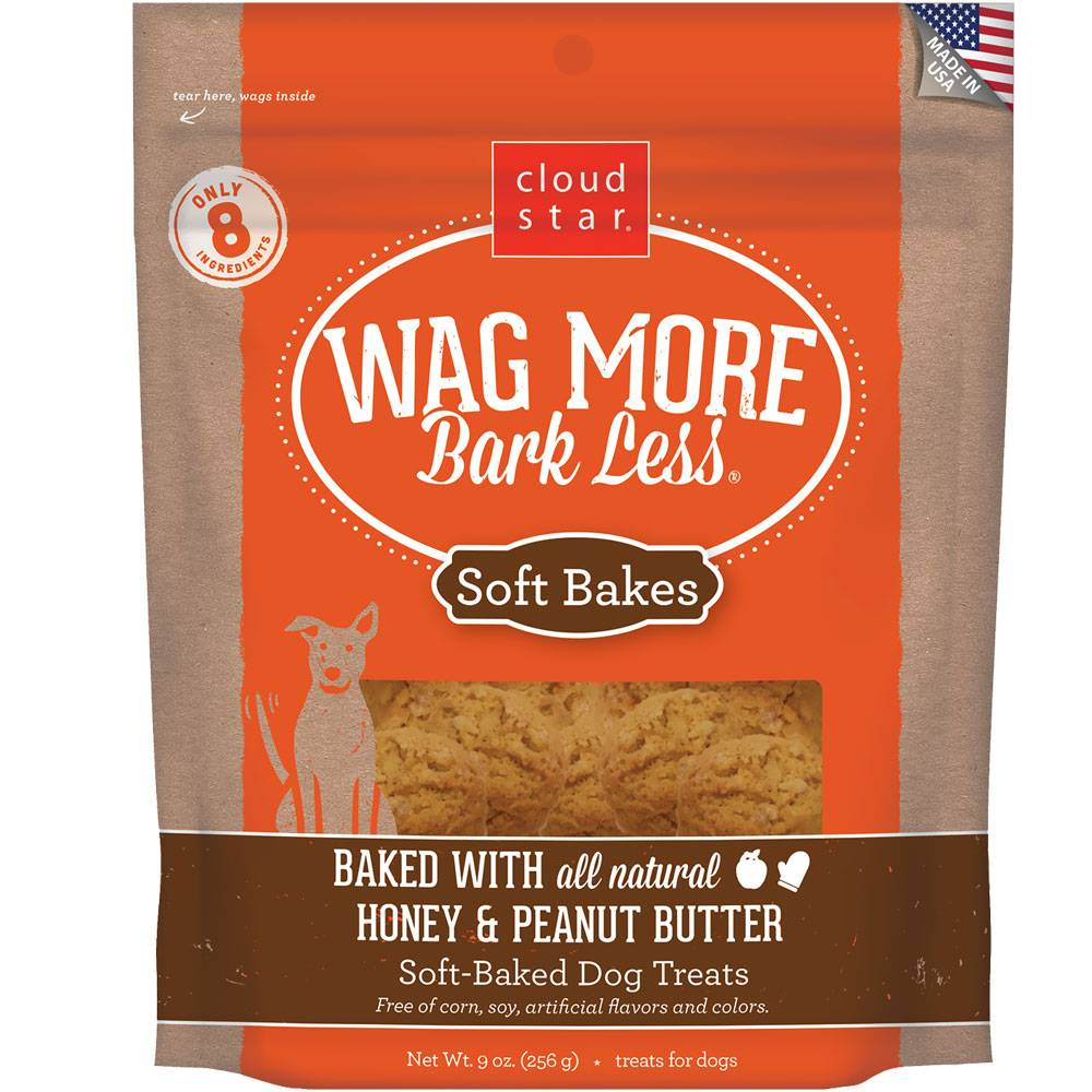 Wag More Bark Less Soft Bakes Peanut Butter