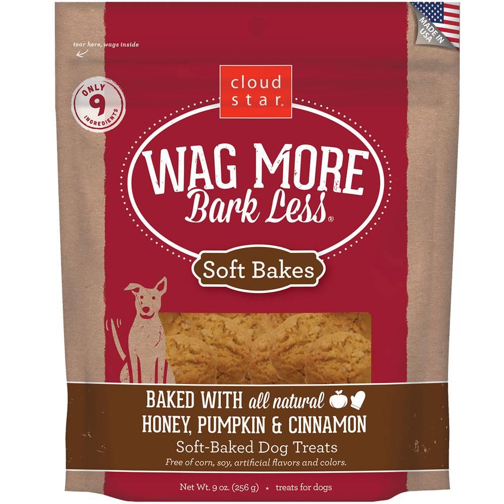 Wag More Bark Less Soft Bakes Pumpkin
