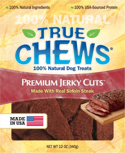 Tyson True Chews Premium Jerky Cuts Steak Dog Treat