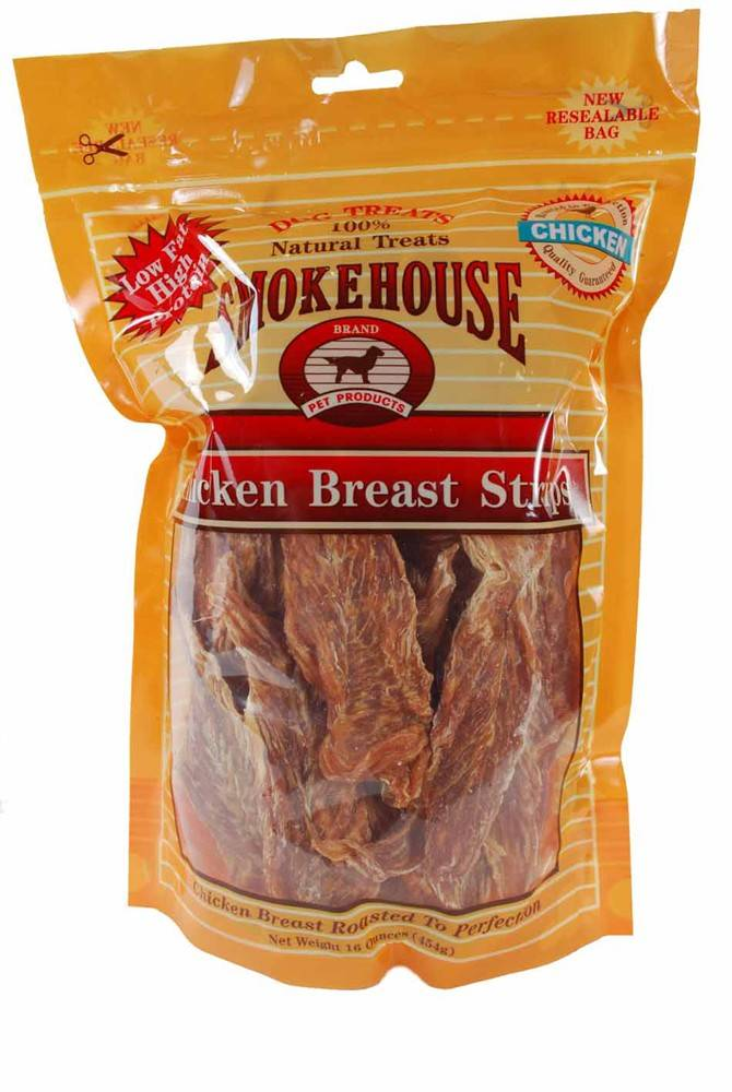 Smokehouse Smokehouse Chicken Breast Strips Dog Treat