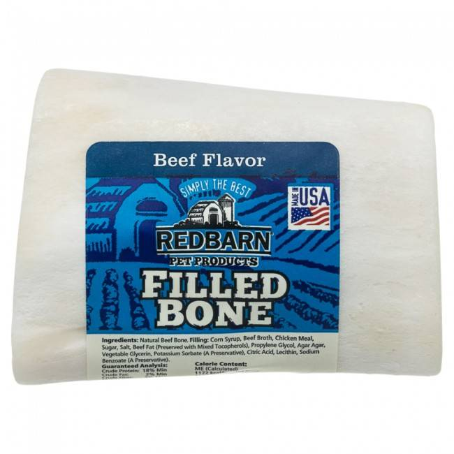 Red Barn Red Barn Filled Bone Beef Dog Chew