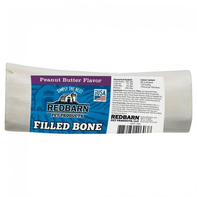 Red Barn Red Barn Filled Bone Peanut Butter Dog Chew