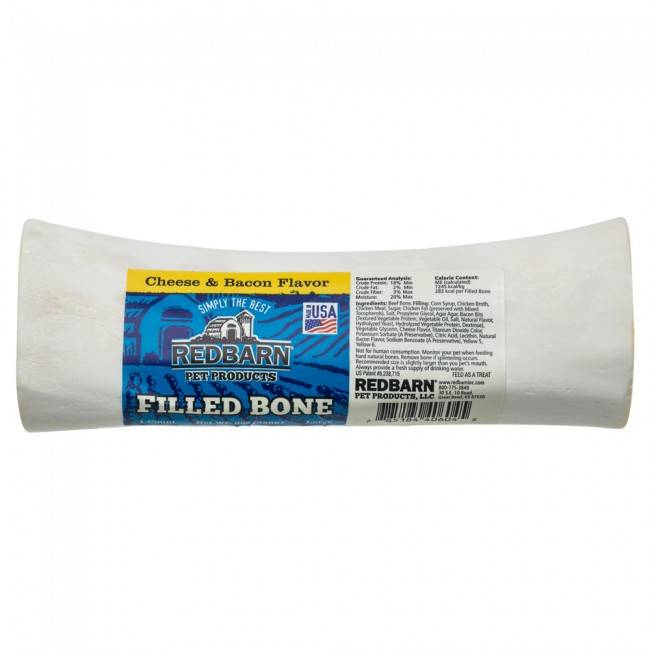 Red Barn Red Barn Filled Bone Cheese/Bacon Dog Chew