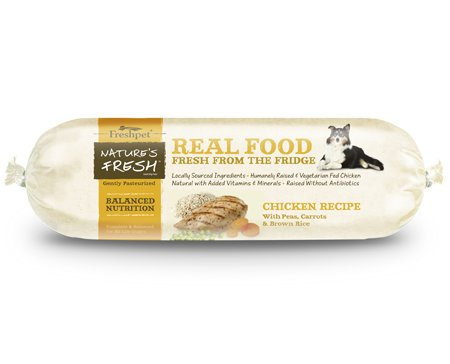 Freshpet Freshpet Nature's Fresh Balanced Nutrition Chicken Recipe 2 lb.
