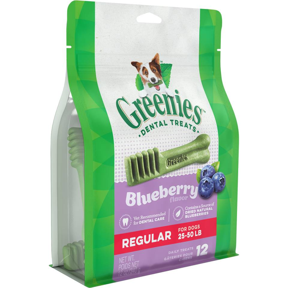 Greenies Greenies Blueberry Regular 12 Oz.