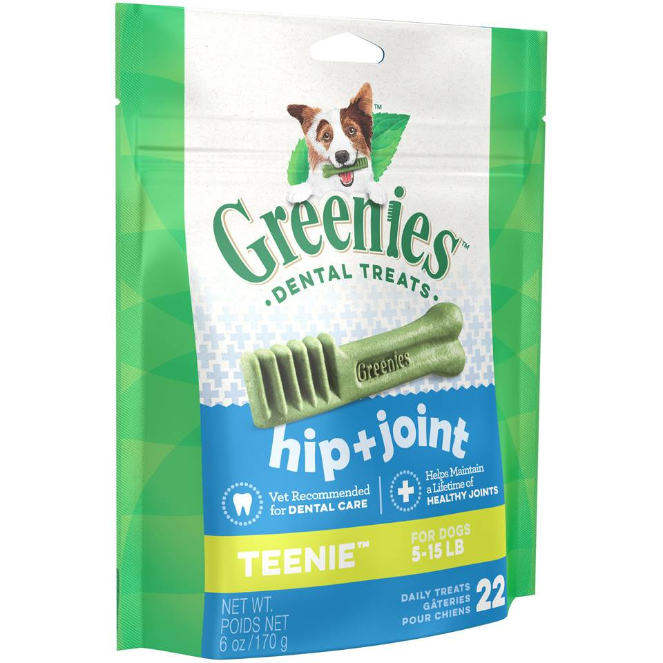 Greenies Greenies Hip & Joint Teenie 6 oz