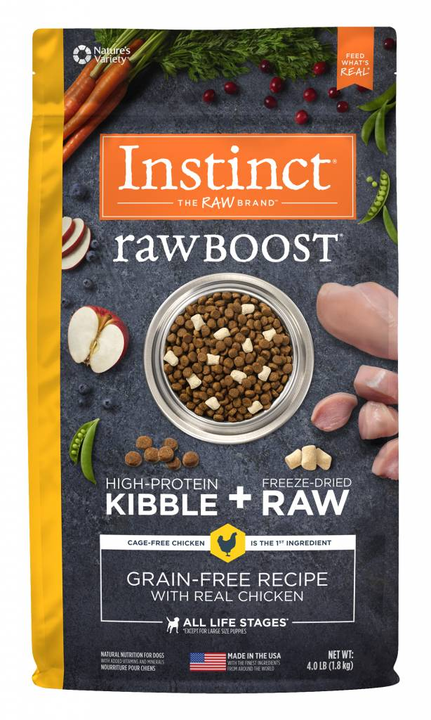 Natures Variety Nature's Variety Instinct Raw Boost Chicken Dry Dog Food
