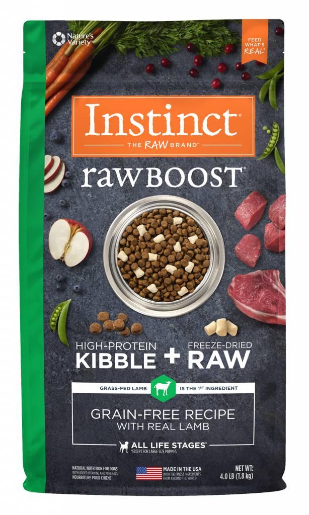 Natures Variety Nature's Variety Instinct Raw Boost Lamb Dry Dog Food