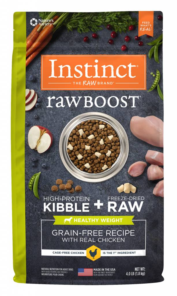 Nature's Variety Nature's Variety Instinct Raw Boost Healthy Weight Dry Dog Food