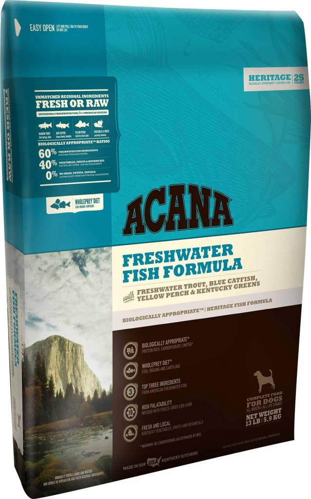 Acana Acana Heritage Freshwater Fish Dry Dog Food