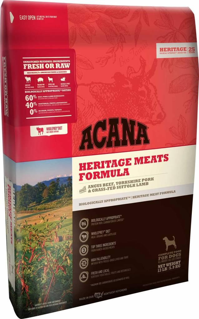 Acana Acana Heritage Meats Dry Dog Food