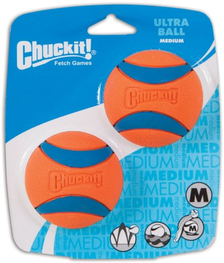 Chuckit! Chuck-It Ultraball 2 Pack Dog Toy