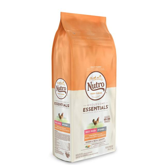 Nutro Nutro Wholesome Essentials - Chicken Senior Small Breed 5 lb.