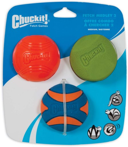 Chuckit! Chuck-It Fetch Medley Dog Toy