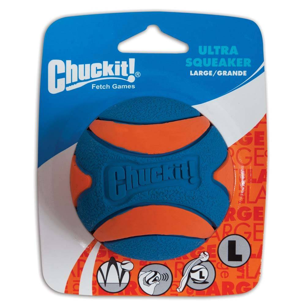 Chuckit! Chuckit! Ultra Squeaker Ball Dog Toy