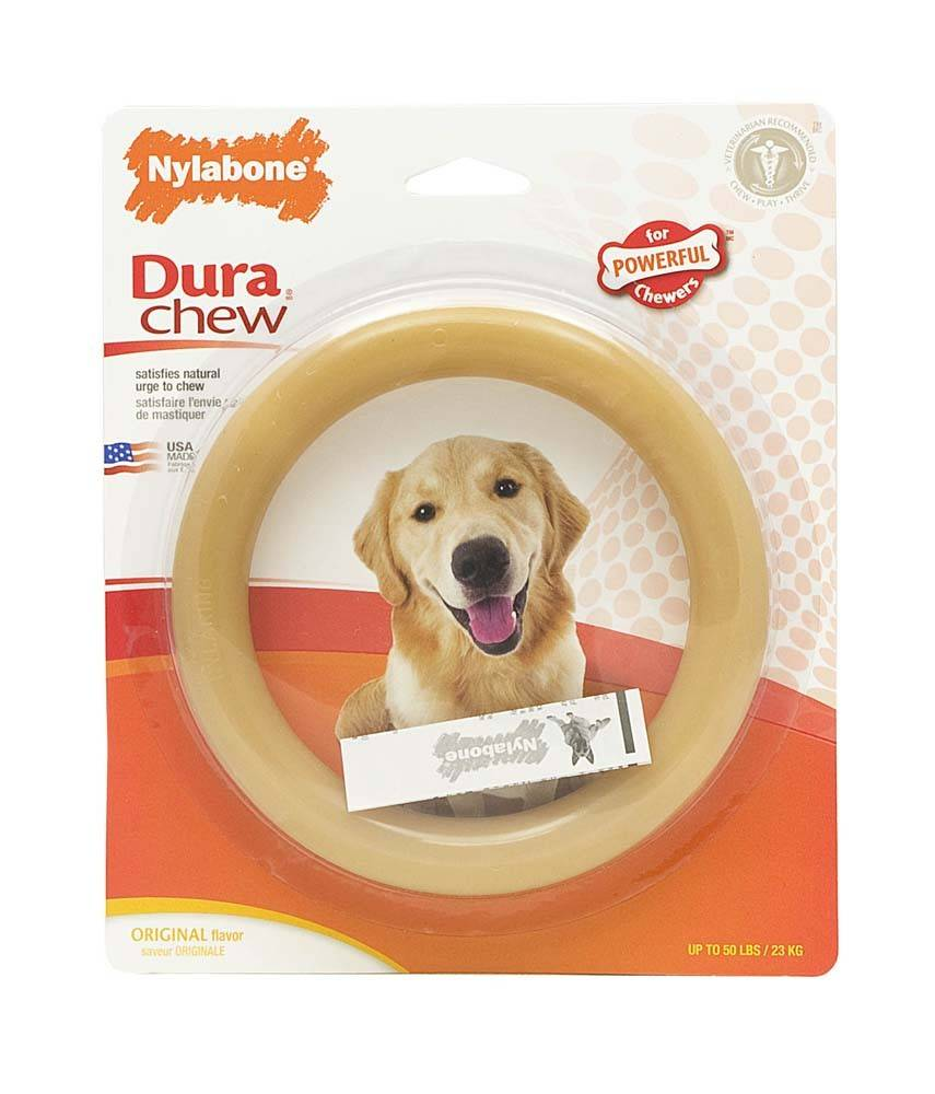 "Nylabone Dura-Chew 6"" Ring Dog Toy"