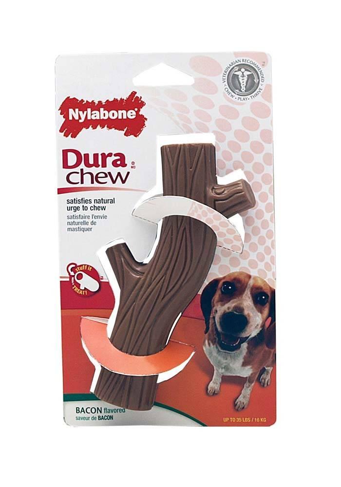 Nylabone Dura-Chew Hollow Stick Wolf Dog Toy