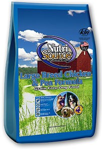 Nutri Source Nutri Source Grain Free Large Breed Chicken 30 lb.
